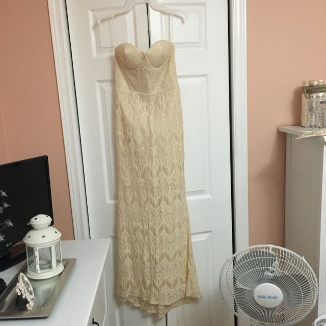 Evening Lace Gown