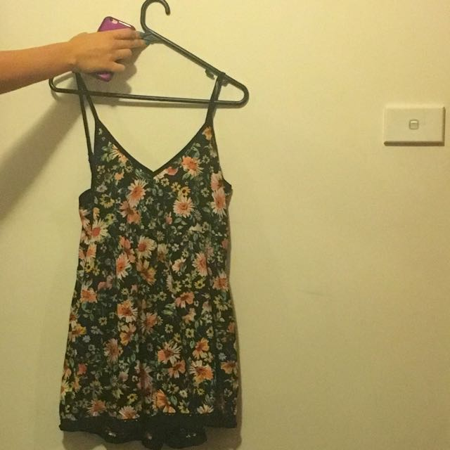 Floral Playsuit (small)