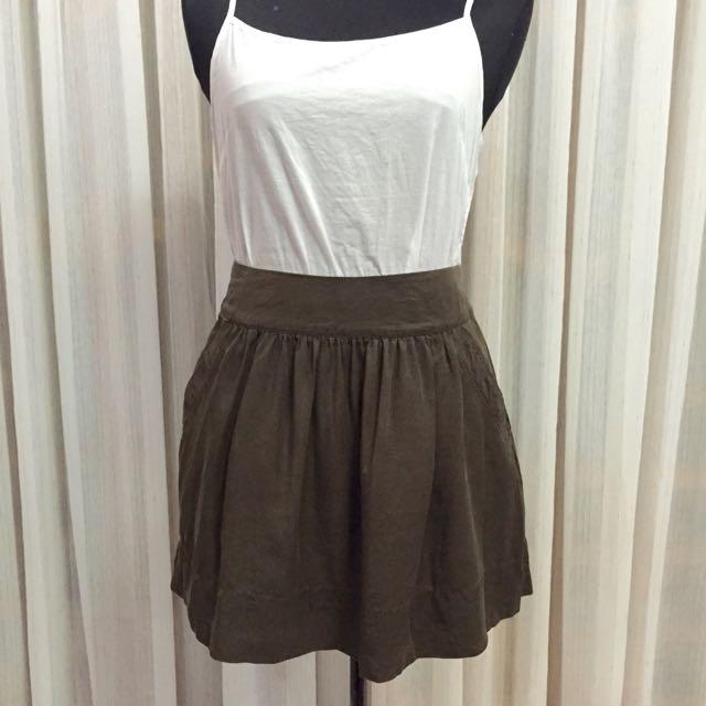 Forever21 Army Green Skirt