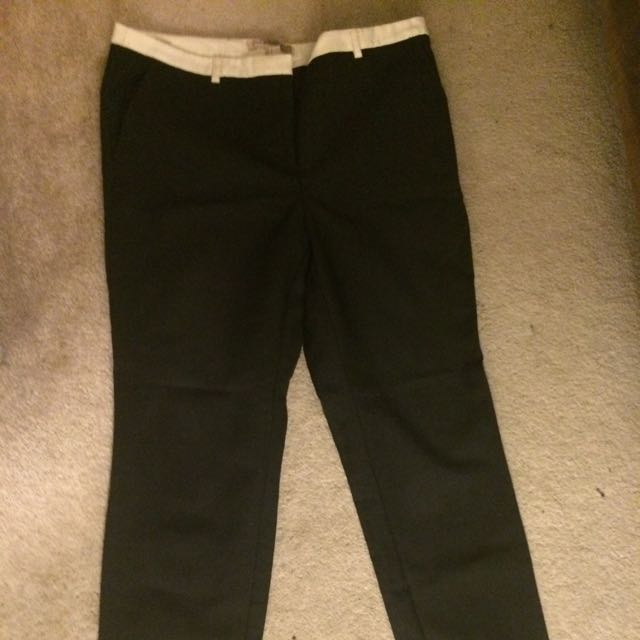 Forever 21 Black Dress Pants Size 10