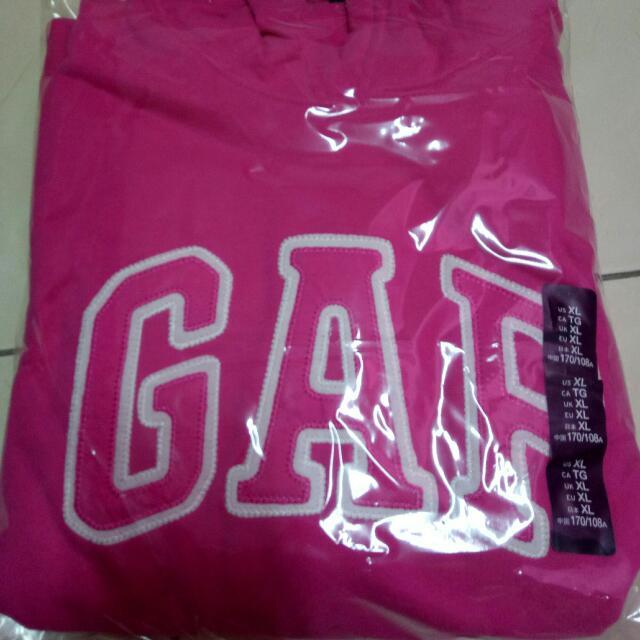 GAP全新正品代購 🎊GAP帽T 只有一件桃色XL,🎉超級特價850含運!!! 買到賺到,薄的鋪棉!超級舒服! 全新售出不退!