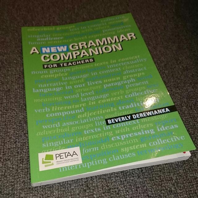 Grammar Companion for Teachers
