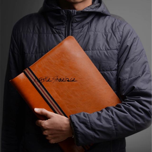 Laptop Sleeve Genuine Microfibre Leather