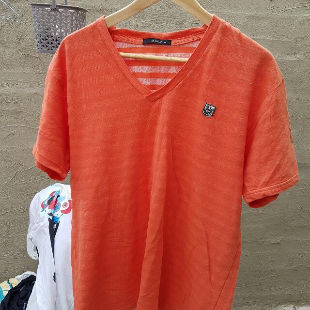 Large V-neck Shirt