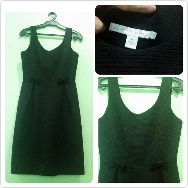 Lauren Conrad Black Dress