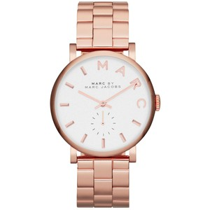 Marc By Marc Jacobs Baker Rose Gold Watch Bnwt Women S Fashion