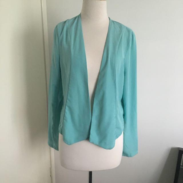 Mint Color Blazer/Cardigan