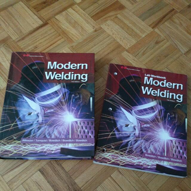 Modern Welding 11th Edition Work & Textbook