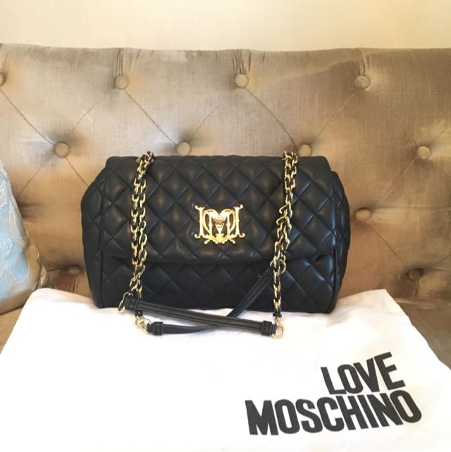 Moschino Bag In Black