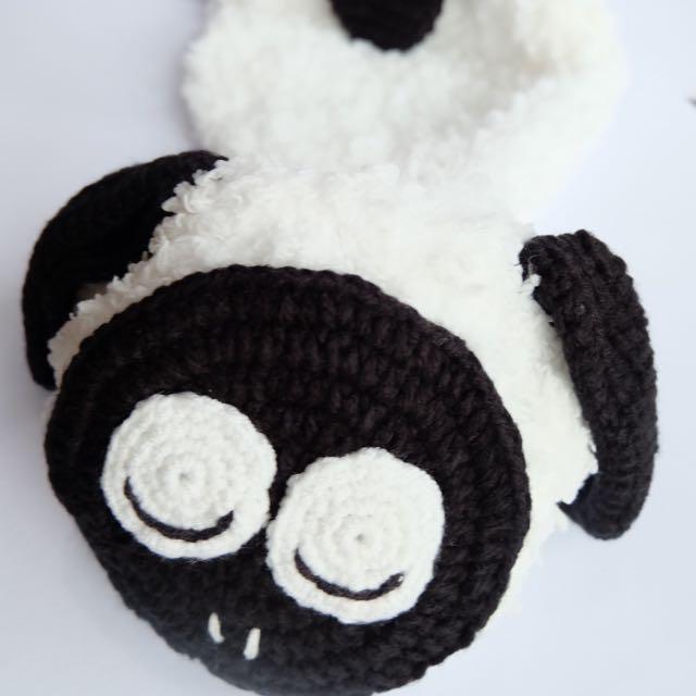 Newborn Baby Cute Crochet Costume Sheep Animal Photography