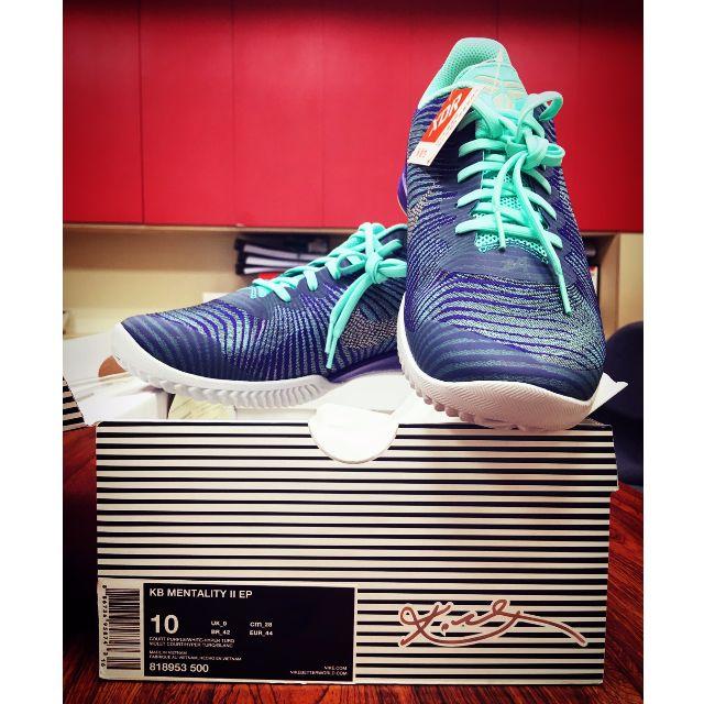 ((全新Nike)) kobe代言-KB MENTALITY ll EP 紫綠色