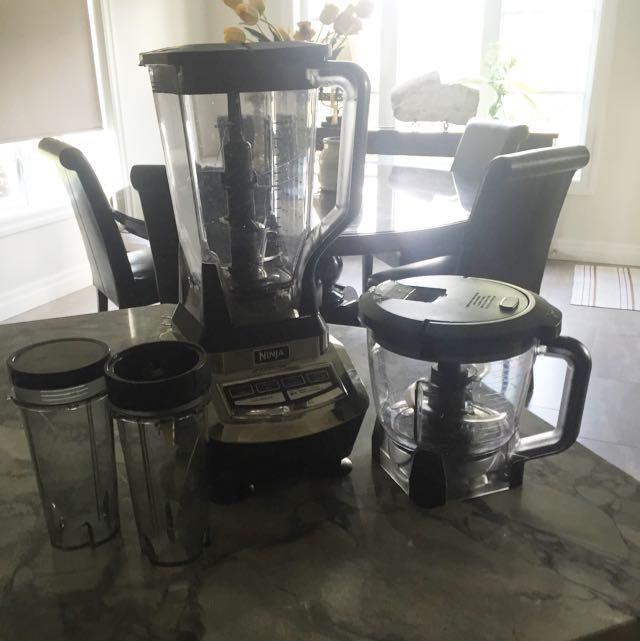 Ninja Blender/Food Processor