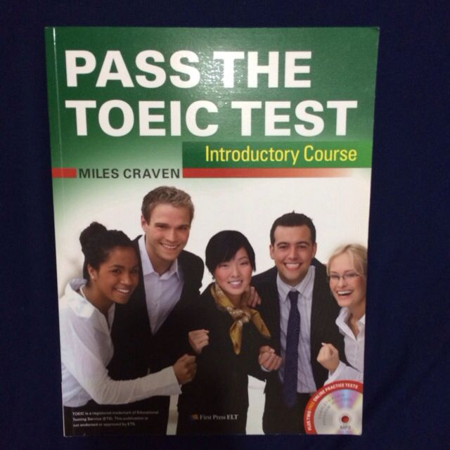 PASS THE TOEIC TEST 保留