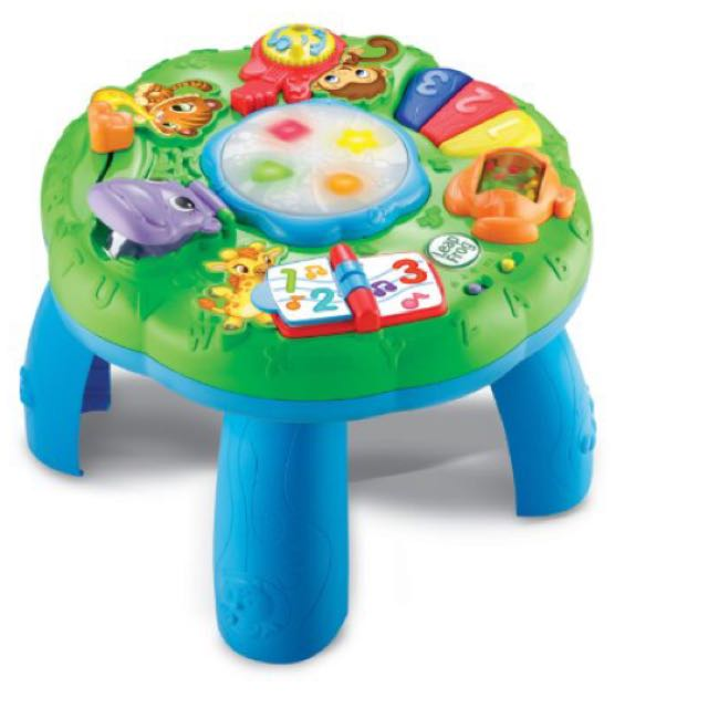 Preloved Leap Frog Animal Adventure Activity Table