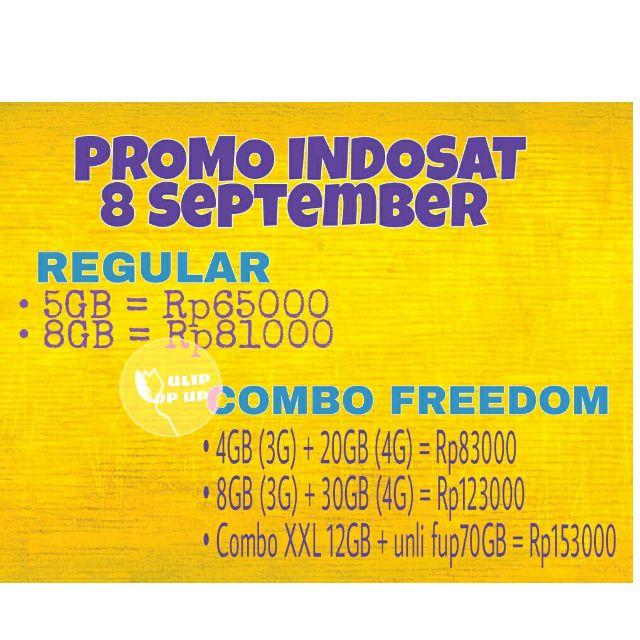 Promo Indosat 8 september