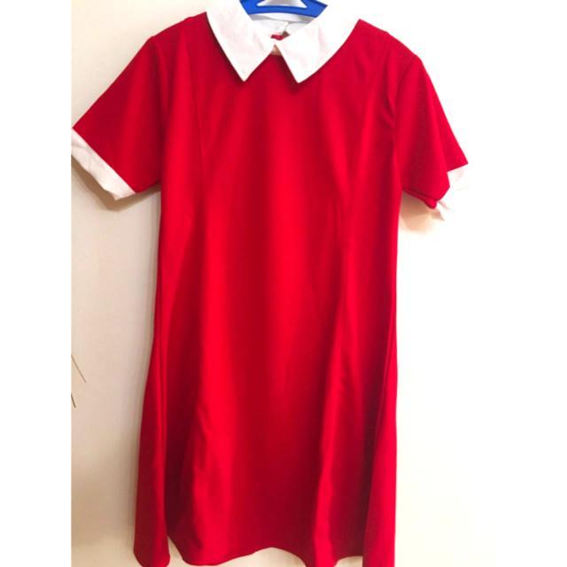 Red Collar Dress
