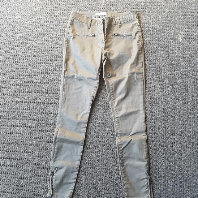 Seed Waxed Jean