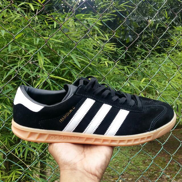6c9d389cd111f9 Sepatu Adidas Hamburg Primeum Import Pria