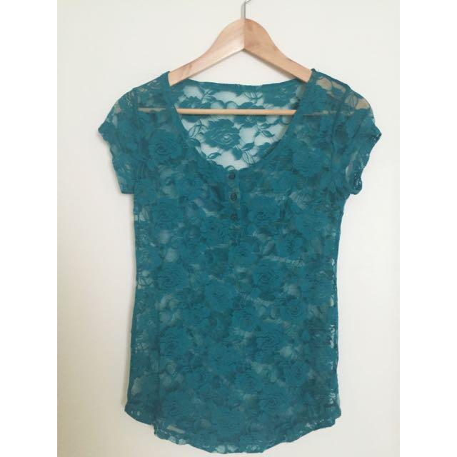 Small Lace Shirt