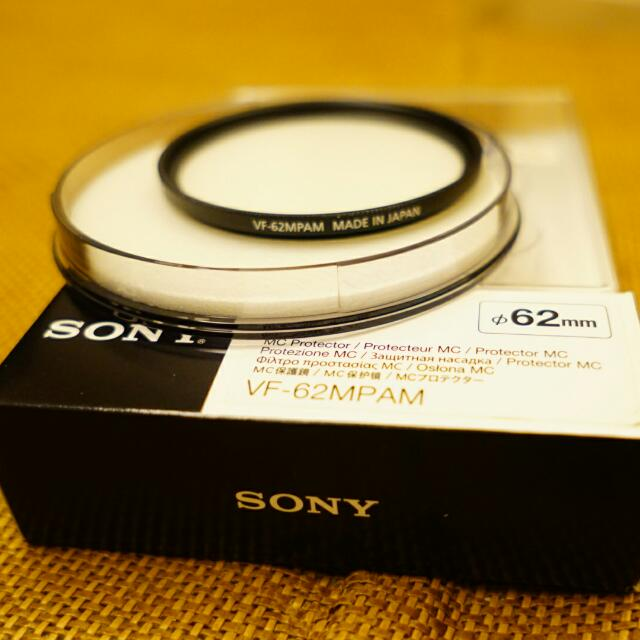 Sony Zeiss 62mm T鍍膜保護鏡