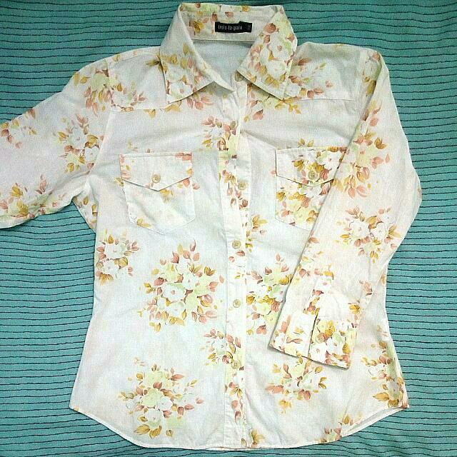 Summer Shirt - Kemeja Santai Bunga
