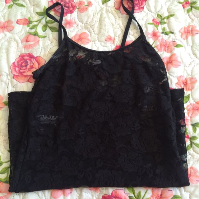 Suzy Shier Lace Top