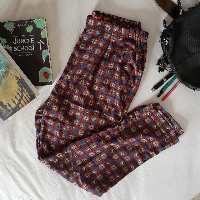 TRISET ladies Patterned Pants