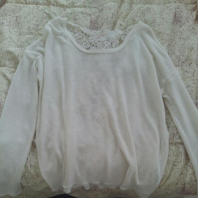 White Ardene Long sleeve