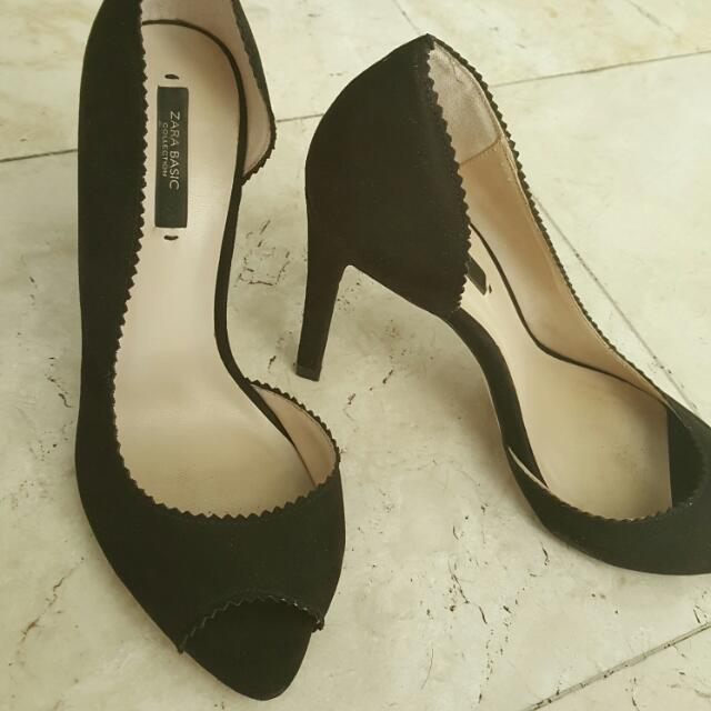 Zara Sued Pumps
