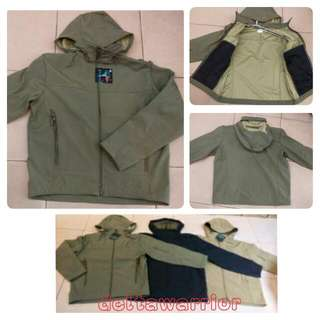 Jaket Tactical Shark Skin / Soft Shell TAD Non Polar