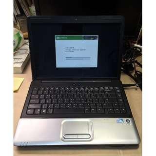 HP Compaq CQ40-454TU 雙核文書機 中古 歡迎私訊 筆記型電腦 筆電
