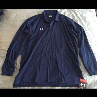 Brand new w/ tag UNDER ARMOUR golf polo shirt