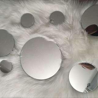 Mirrors Round Decorative