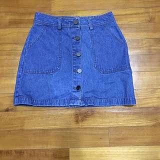 Osmose Denim Skirt