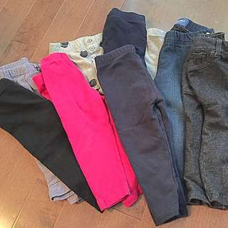 Girls Leggings Lot