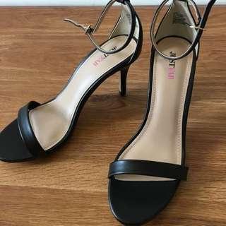 Just fab High Heels, Blk New