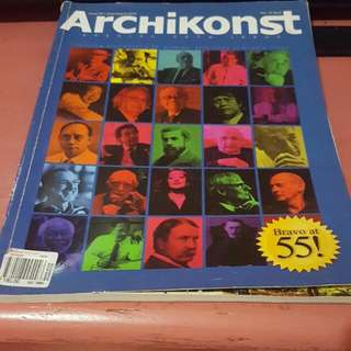 Archikonst 55th Special Issue