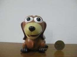[明的玩具屋]玩具總動員臘腸狗存錢筒