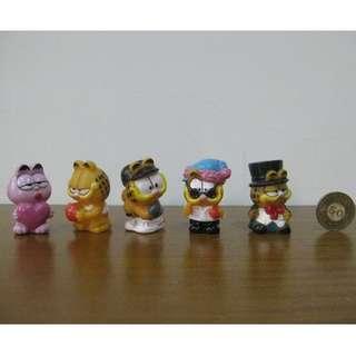 [明的玩具屋]加菲貓絕版公仔