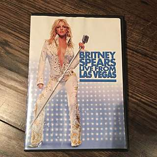 DVD Britney Spears Live From Las Vegas