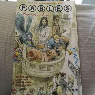 Fables graphic novels