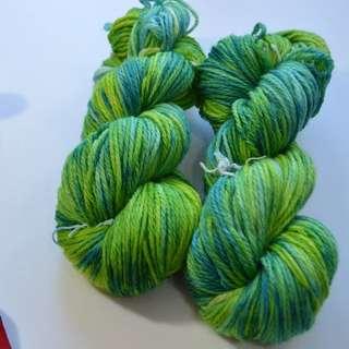 Hand Dyed Yarn | Handdyed Yarn | Superwash | Wool |Nylon | Sport weight | Hand Dyed