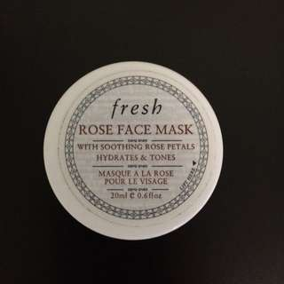 Fresh Rose Face Mask