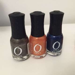 Orly Metallic Nail Polish Set