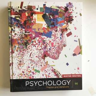 PSYCHOLOGY THEMES AND VARIATIONS 9E