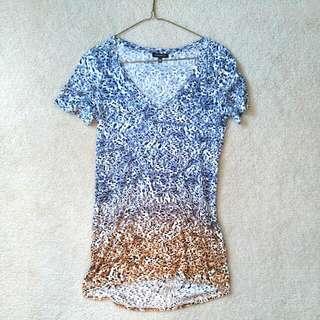 XS Dynamite Printed Cheetah T Shirt