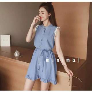 Brand new tag on Blue dress size 6-8