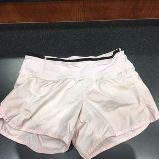 LululemonSpeed Shorts