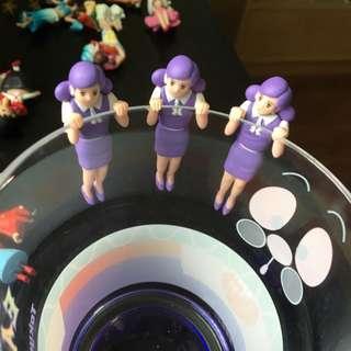 展場限定 七彩 彩色 偷看款 杯緣子 紫色