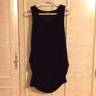 Shinny Sweater Dress